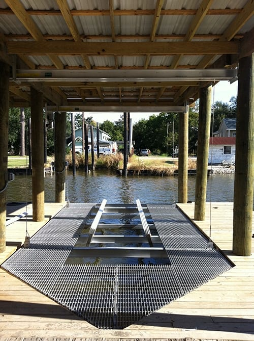 Boat House Lifts 4