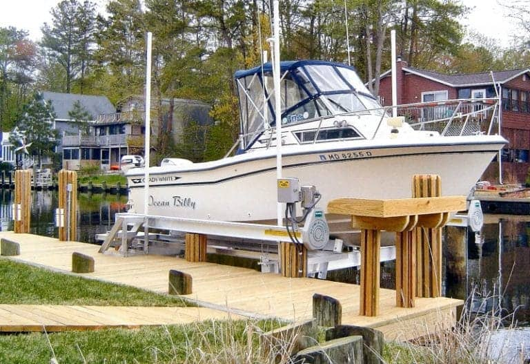 Don't Ignore These Five Factors When Buying Your Next Boat Lift - image BRINDLEY-10K-Q-768x527 on https://www.iqboatlifts.com