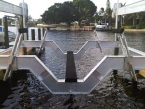 Vertical Lifts Gallery - image SailBoat-Stanchion-system-300x225 on https://www.iqboatlifts.com