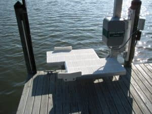 PWC Lifts Gallery - image kayak-swivel1-300x225 on https://www.iqboatlifts.com