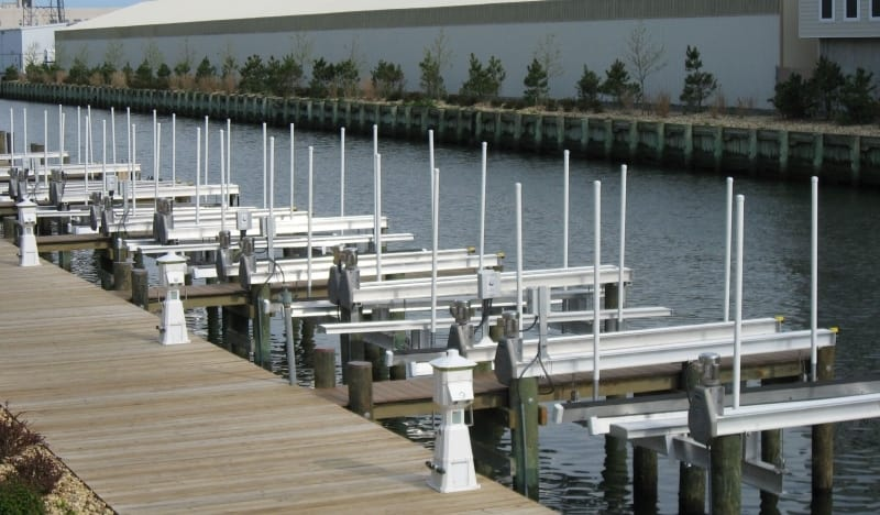 How to Choose a Marine Contractor - image old-Alumavator-Marina on https://www.iqboatlifts.com