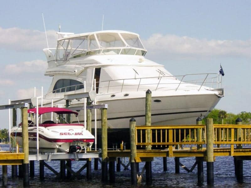 How to Choose the Correct Capacity Boat Lift for your Boat | IMM