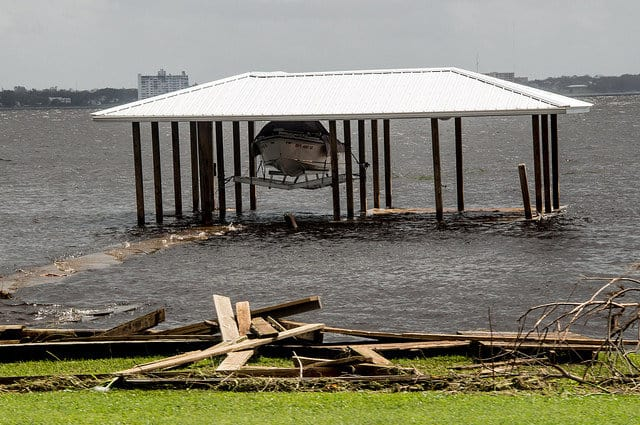 After a Storm: Inspecting Your Boat Lift and Dock - image Assess-the-Dock-and-Seawall-Structure on https://www.iqboatlifts.com
