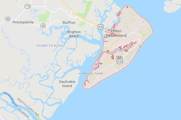 Hilton Head Island South Carolina Map.Boat Lifts Hilton Head Sc Imm Quality Boat Lifts