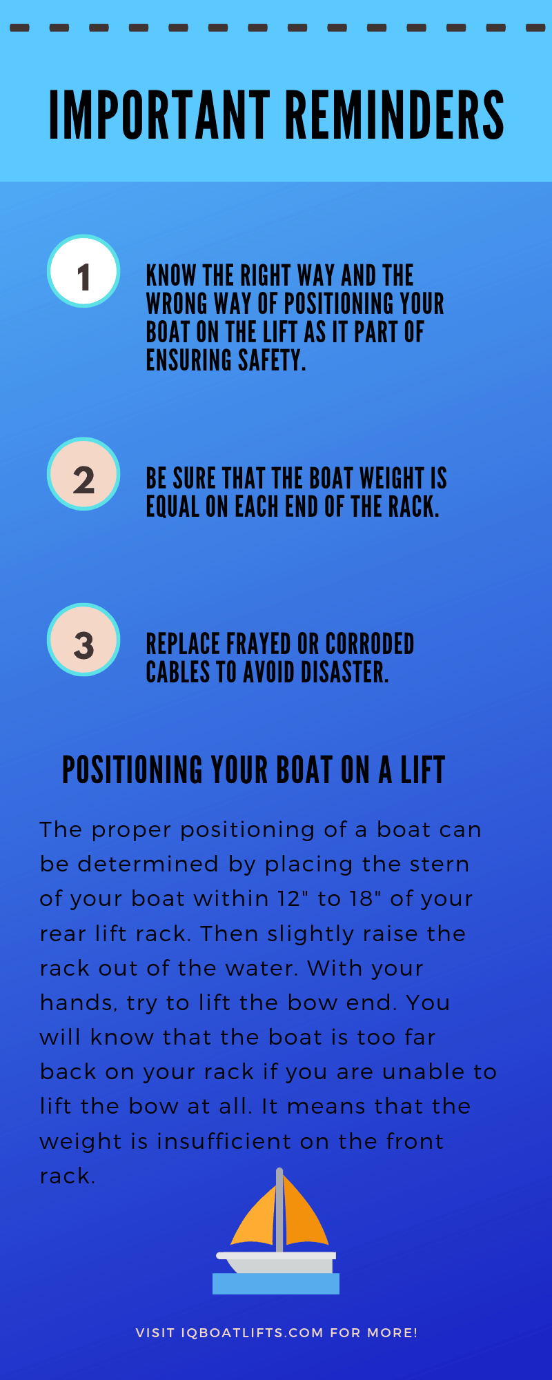 Safety Tips: The Proper Way To Operate A Boat Lift - image IMM-boat-lifts on https://www.iqboatlifts.com
