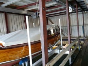 Boathouse Lifts Gallery - image Special-Cradle-to-a-Boat-from-1945-2-300x225 on https://www.iqboatlifts.com