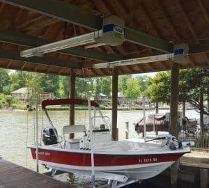 Boathouse Lifts Gallery - image Boathouse-Platinum-suspension-bracket-3-300x270 on https://www.iqboatlifts.com