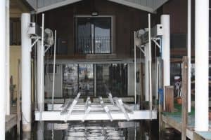 Vertical Lifts Gallery - image Superlift-custom-bunks-6-300x200 on https://www.iqboatlifts.com