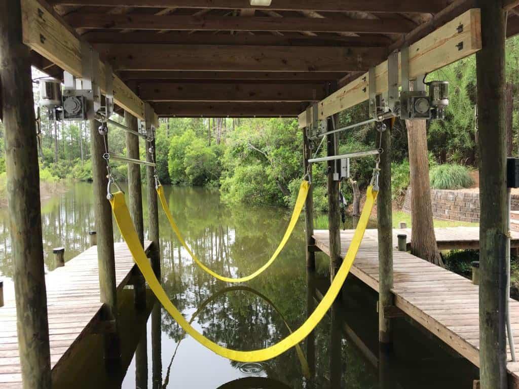 Sling Boat Lift Bunk