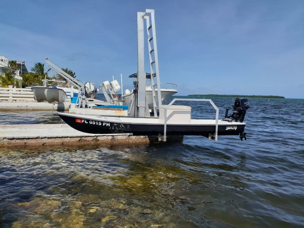 kayak lift by imm quality boat lifts