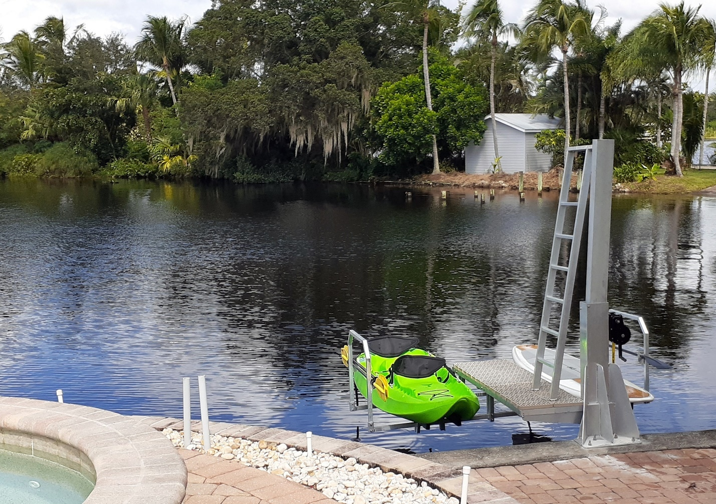 Extremely Easy And Safe To Use Double Kayak Lift