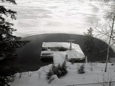 How To Protect Your Dock during winter