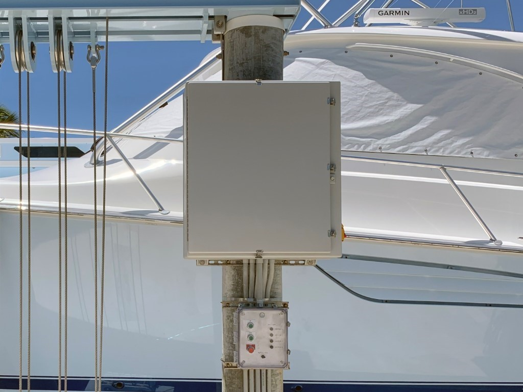 Control System Of Titan Yacht Lift