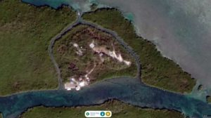 Rose Key Satellite Image - IMM Quality Boat Lifts Project