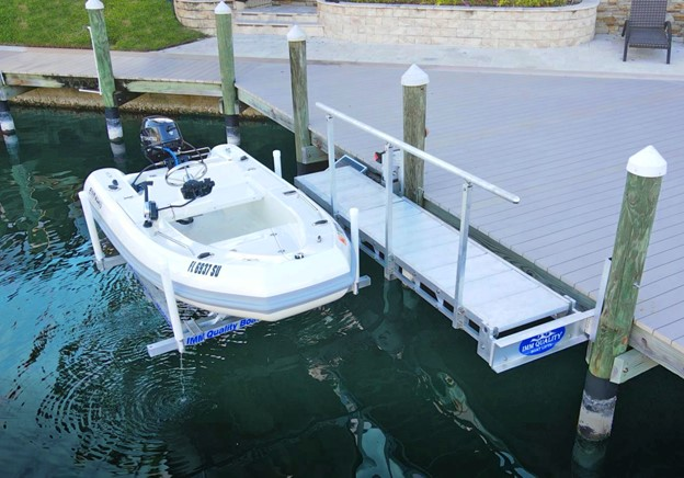 ascension boat lift by iq boat lifts