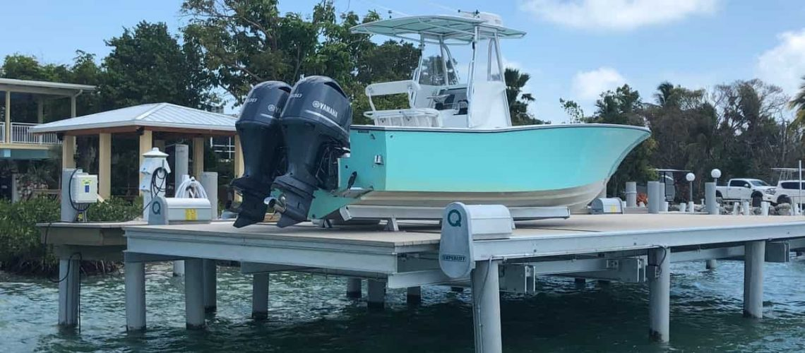 Boat Lifts Usage