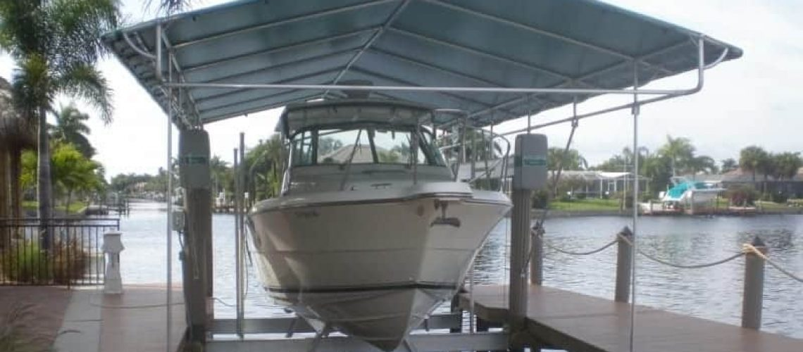 Extend The Life Of Your Boat Lift Canopy 1