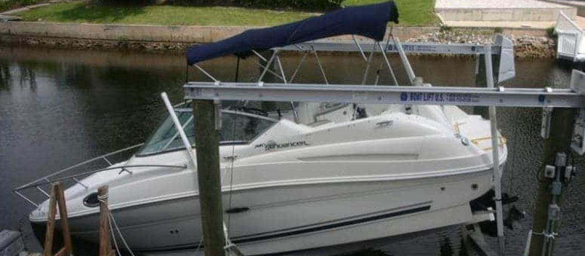 Boat Lift Maintenance 2